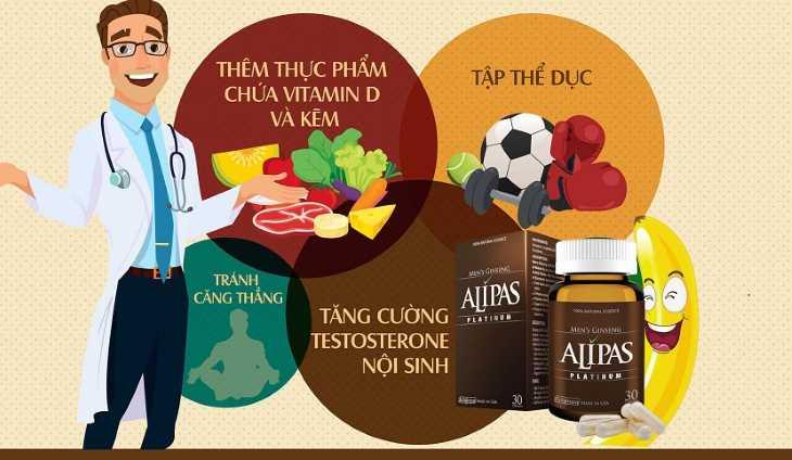 Khi dùng sâm alipas người bệnh nên kết hợp ăn uống, luyện tập hợp lý