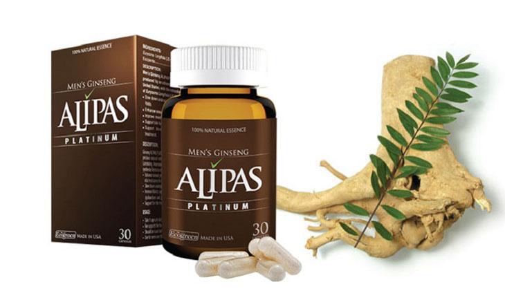 Sâm Alipas là sản phẩm được các quý ông ưa chuộng