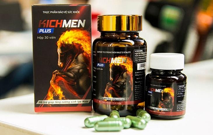 Thuốc cải thiện sinh lý nam Kichmen Plus