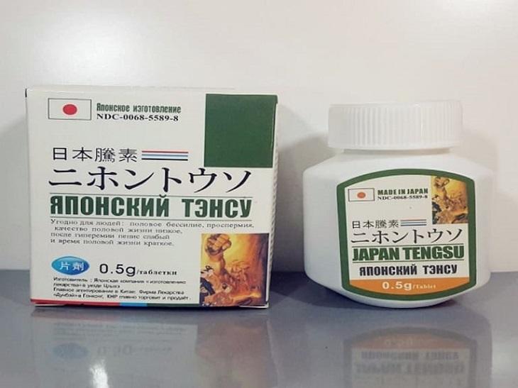 Thuốc trị rối loạn cương dương Japan Tengsu của Nhật