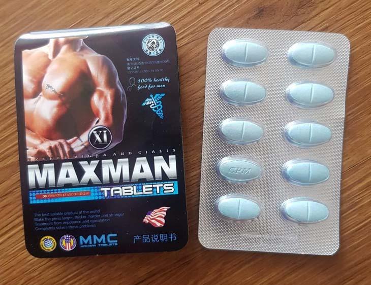 Thuốc cường dương maxman