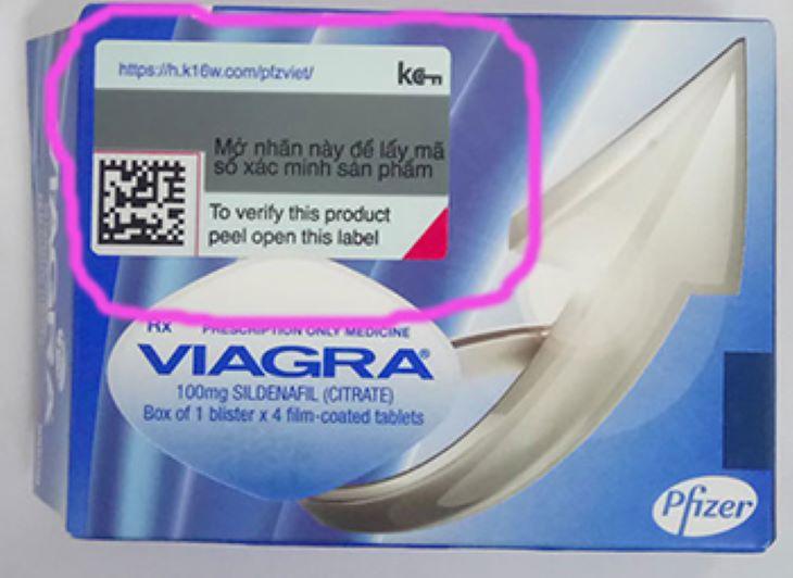 Người dùng có thể dùng tem điện tử trên vỏ hộp thuốc để kiểm tra hàng thật