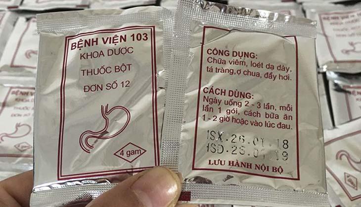 Người bệnh nên tìm hiểu về thuốc dạ dày viện 103 trước khi sử dụng