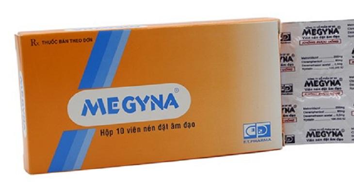 Thuốc Megyna giúp trị viêm âm đạo hiệu quả