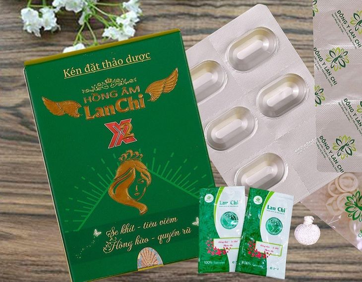 Hồng Ân Lan Chi là thuốc đặt viêm âm đạo giúp giảm nhanh tình trạng viêm nhiễm phụ khoa