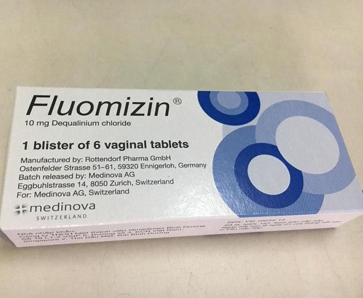 Fluomizin là thuốc đặc trị viêm lộ tuyến cổ tử cung