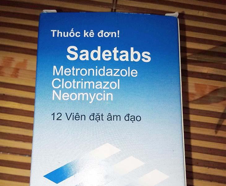 Sadetabs được bác sĩ chỉ định trong điều trị viêm âm đạo, viêm lộ tuyến cổ tử cung ở phụ nữ