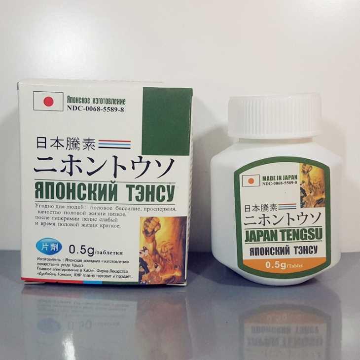 Japan Tengsu là thuốc tăng cường sinh lý nam của Nhật được rất nhiều người sử dụng