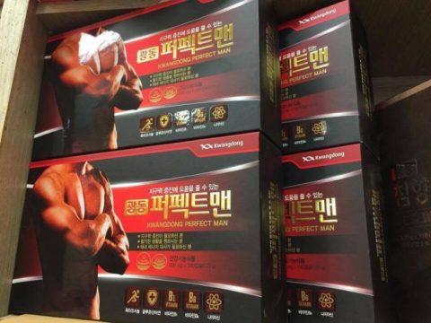Kwangdong Perfect Man là thuốc tăng cường sinh lý được rất nhiều đàn ông sử dụng