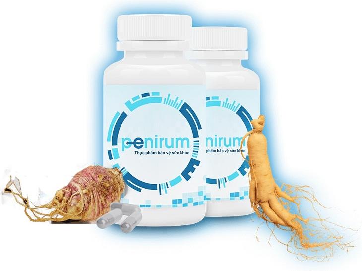 Penirum chiết xuất từ nhiều thảo dược quý giúp tăng cường sinh lý, chống xuất tinh sớm hiệu quả