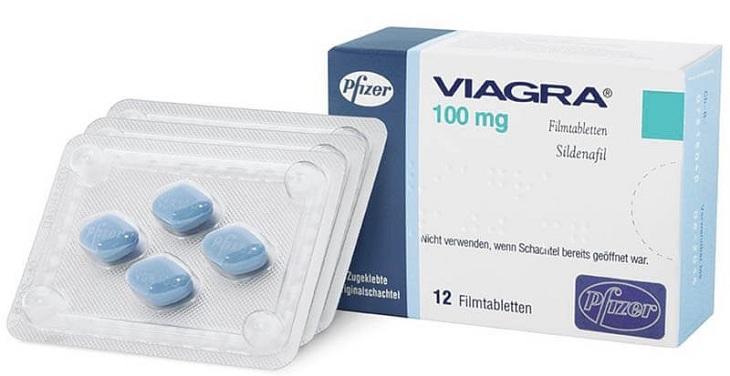 Viagra (Sildenafil) hỗ trợ điều trị yếu sinh lý, chống xuất tinh sớm ở nam giới