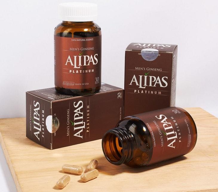 Sâm Alipas giúp tăng cường lưu lượng máu tới thể hang dương vật giúp kéo dài thời gian xuất tinh