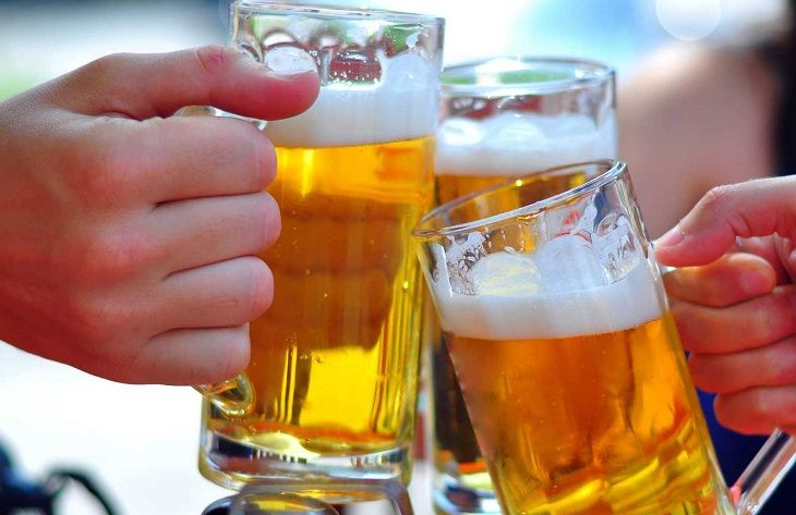 Tuyệt đối không sử dụng rượu bia khi điều trị viêm amidan