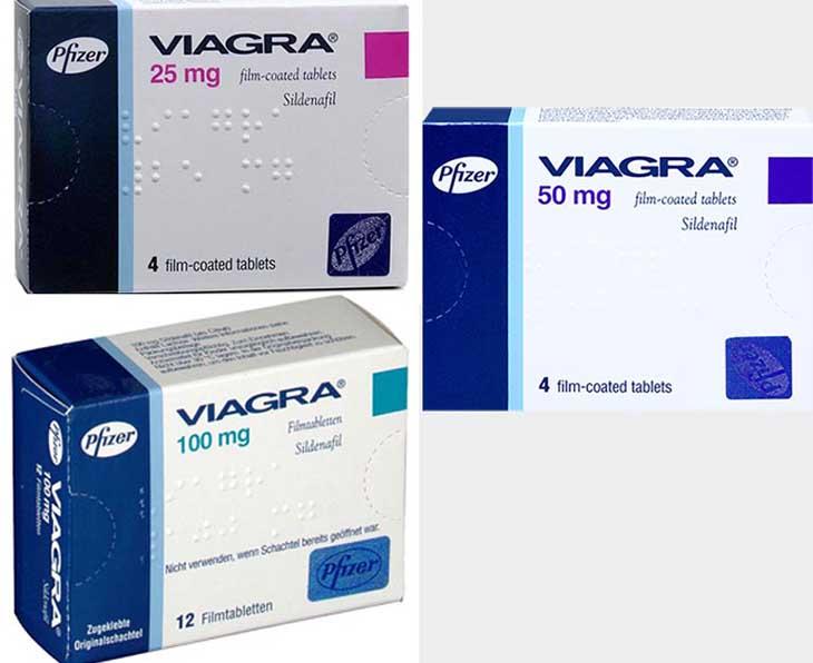 Các loại viagra trên thị trường