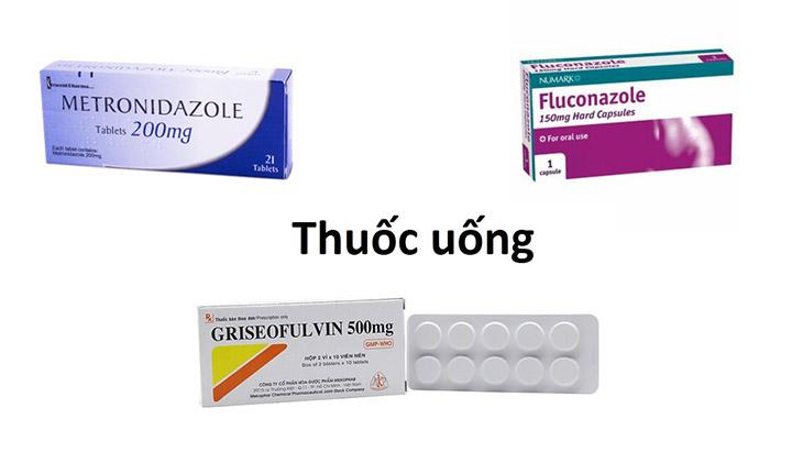 Thuốc đường uống được sử dụng khá phổ biến