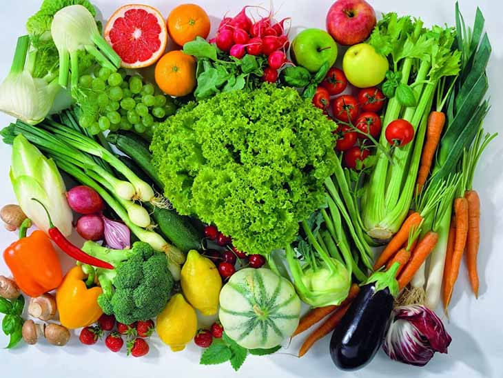 Rau, củ, quả tươi luôn là nhóm thực phẩm có lợi cho sức khỏe