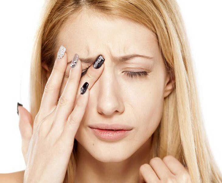 Biến chứng ổ mắt do viêm xoang gây ra