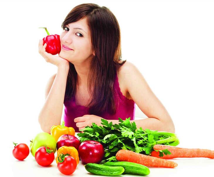 Chế độ dinh dưỡng hợp lý sẽ giúp chị em ngăn ngừa được lão hóa sớm