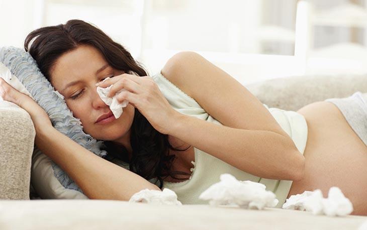 Những triệu chứng viêm xoang khi mang thai phổ biến