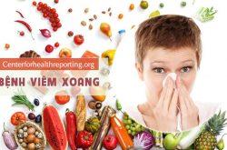 Bị viêm xoang kiêng ăn gì và nên ăn gì là thắc mắc của nhiều người