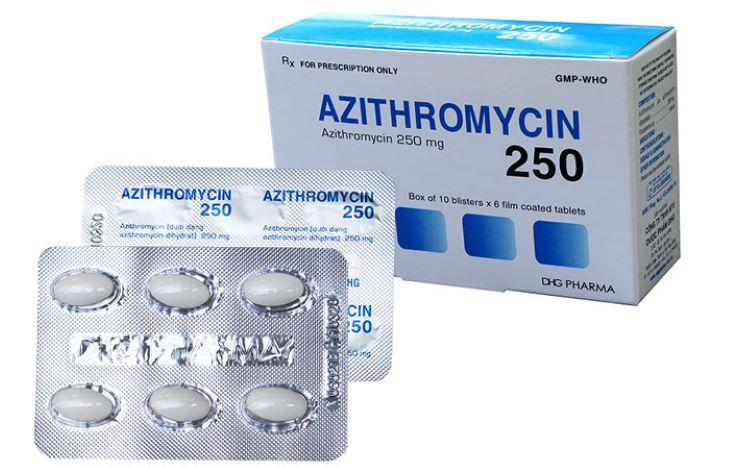 Hình ảnh thuốc Azithromycin