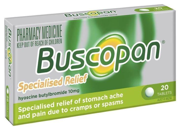 Hình ảnh thuốc Buscopan