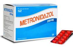 Thuoc tri huyet trang metronidazole