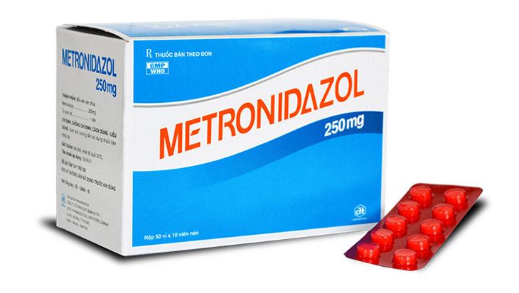 Thuốc trị huyết trắng hiệu quả Metronidazole
