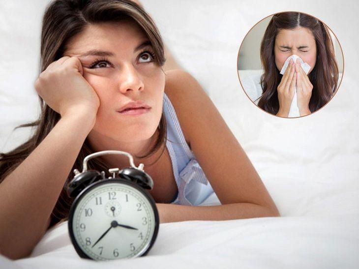 Viêm xoang gây mất ngủ là tình trạng thường gặp của hầu hết người bệnh
