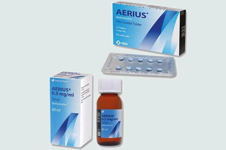 Tìm hiểu về thuốc chống dị ứng Aerius