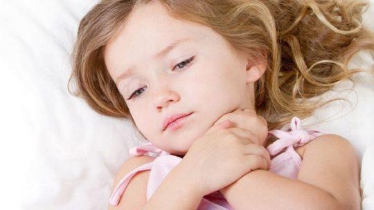 Bệnh amidan phì đại ở trẻ nhỏ