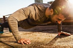 Chống đẩy bài tập đơn giản mà nam giới có thể tập bất cứ đâu để có được thể lực tốt nhất