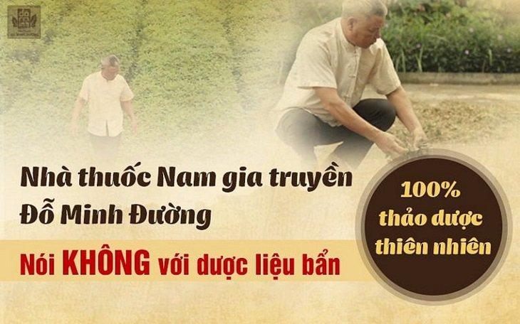 Nhà thuốc Đỗ Minh Đường co 3 vườn thảo dược sạch chuyên biệt ở Hòa Bình, Hưng Yên và Gia Lâm (Hà Nội)