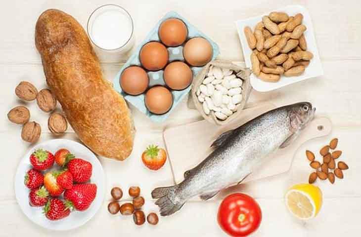 Thực phẩm dễ gây dị ứng không nên sử dụng khi trẻ bị viêm da cơ địa