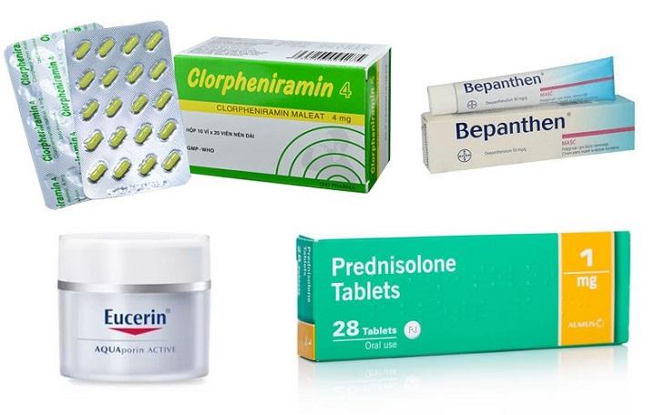 Các loại thuốc Tây chữa ngứa da