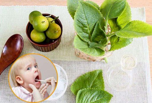 Cách chữa viêm amidan cho trẻ tại nhà