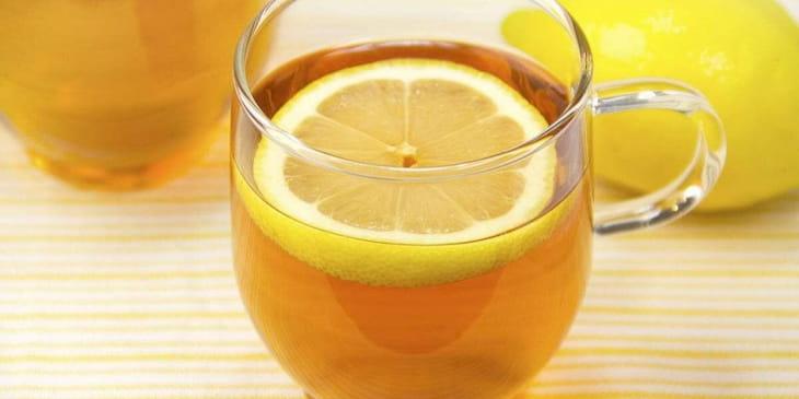 Trà chanh mật ong là cách chữa viêm amidan tại nhà hiệu quả