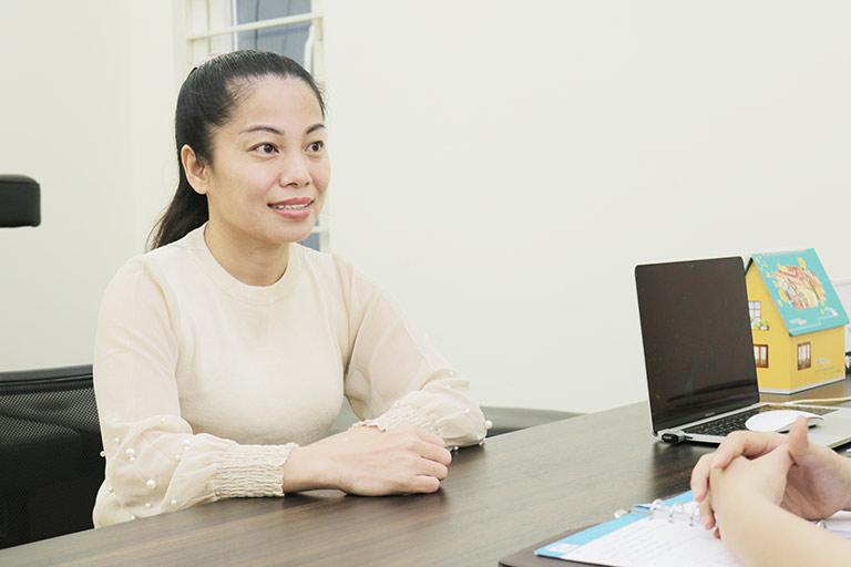 Chị Nguyễn Thị Vân Anh điều trị tiền mãn kinh tại nhà thuốc Đỗ Minh Đường