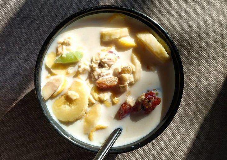 Ngũ cốc chuối là món ăn vô cùng tiện lợi, bổ dưỡng lại giúp phái mạnh chữa xuất tinh sớm