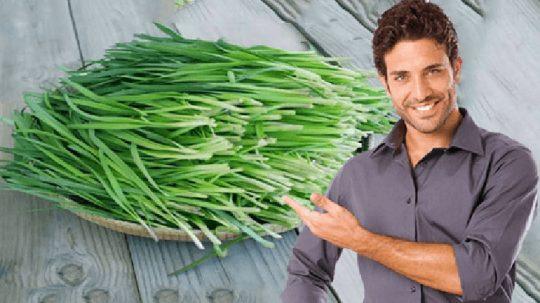 Chữa xuất tinh sớm bằng lá hẹ là giải pháp hữu hiệu cho nam giới