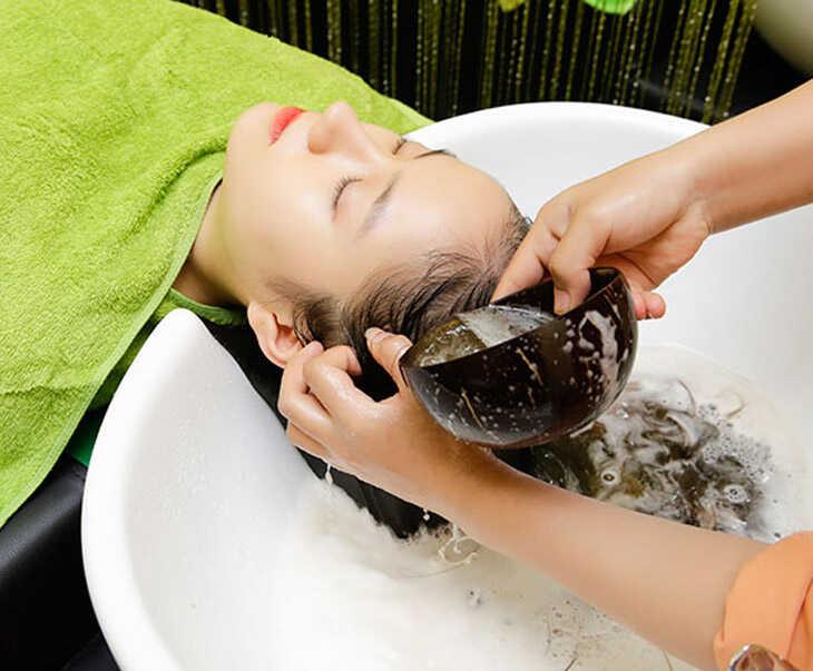 Gội đầu bằng bồ kết giúp giảm ngứa và gàu trên da đầu