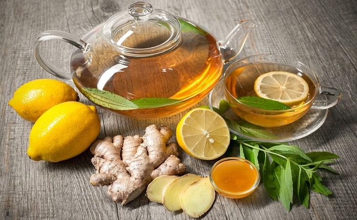Trà gừng vừa có tác dụng kháng viêm, giảm đau vừa hỗ trợ tiêu hóa