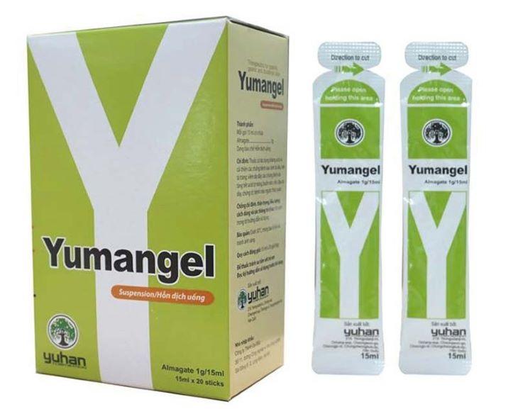 Hình ảnh thuốc đau dạ dày Yumangel