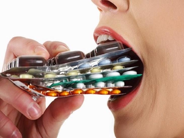 Sử dụng các loại thuốc Tây điều trị là phương pháp phổ biến