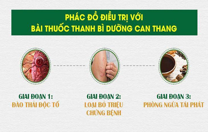Bài thuốc mang lại tác động toàn diện, tiêu viêm giải độc hiệu quả