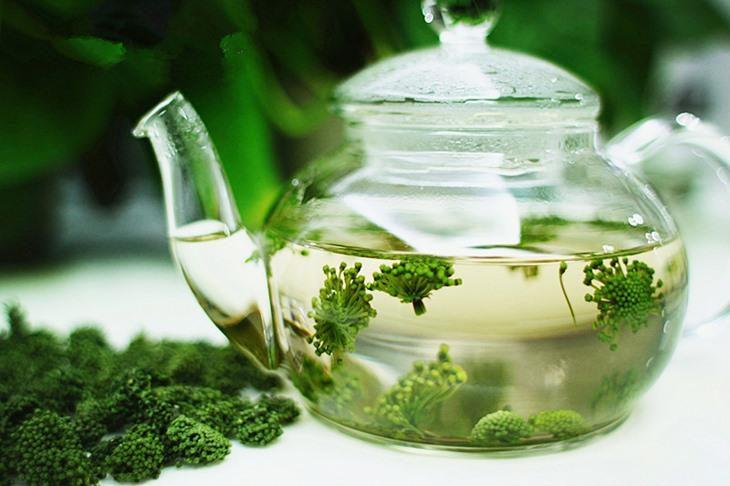 Pha trà từ hoa cây tam thất là cách sử dụng phổ biến nhất hiện nay