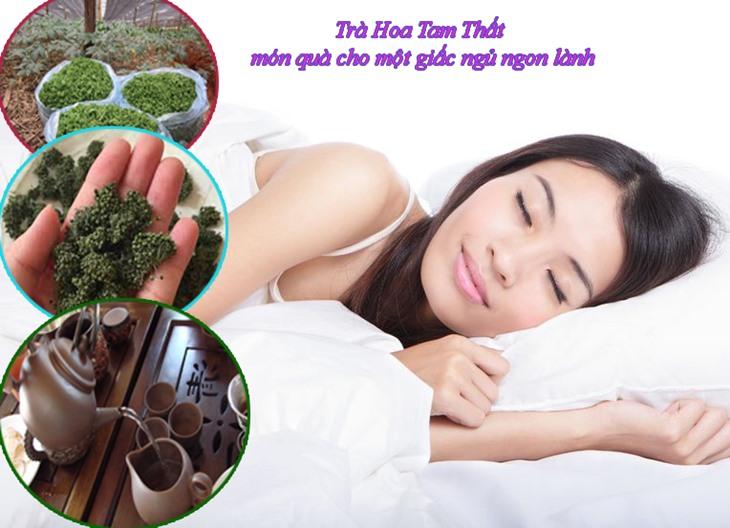 Hoa tam thất được biết đến như thần dược cho giấc ngủ