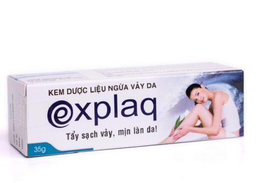 kem explaq giúp ngừa vảy nến và viêm da cơ địa hiệu quả