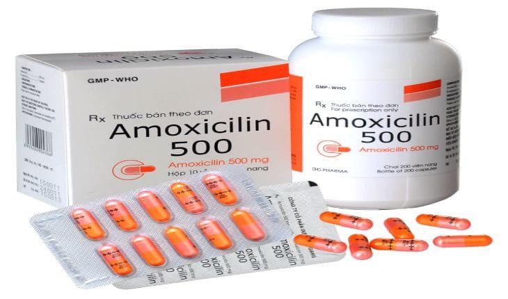 Kháng sinh chữa viêm amidan cho trẻ amoxicillin