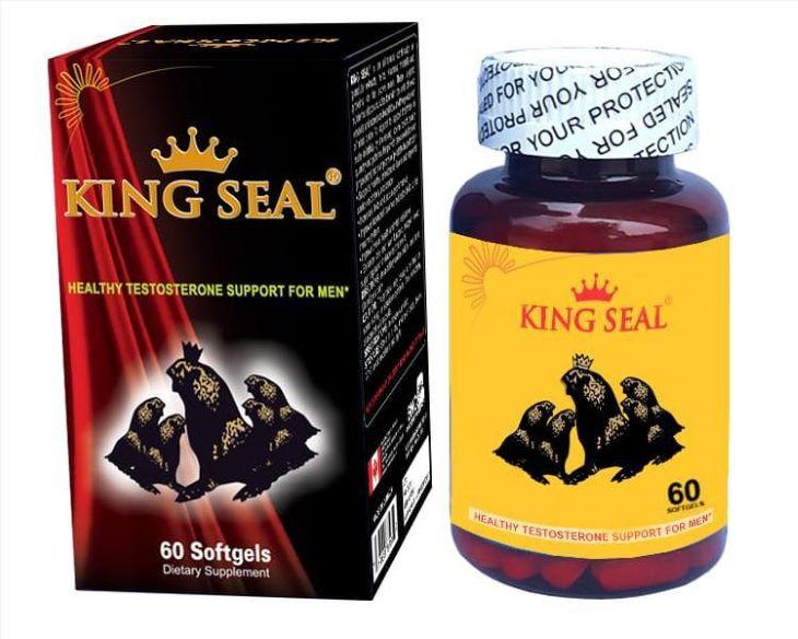 King Seal là một trong những loại thuốc tăng cường sinh lý nam nổi tiếng của Mỹ